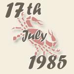17 1985:
