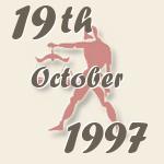 19 October 1997