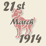 Aries, 21. March 1914.