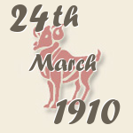 Aries, 24. March 1910.