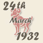 Aries, 24. March 1932.