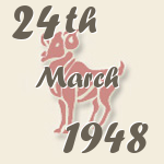 Aries, 24. March 1948.