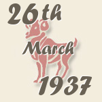 Aries, 26. March 1937.