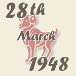 Aries, 28. March 1948.