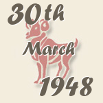 Aries, 30. March 1948.