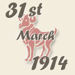 Aries, 31. March 1914.